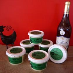 Cancoillotte au vin du jura Savagnin