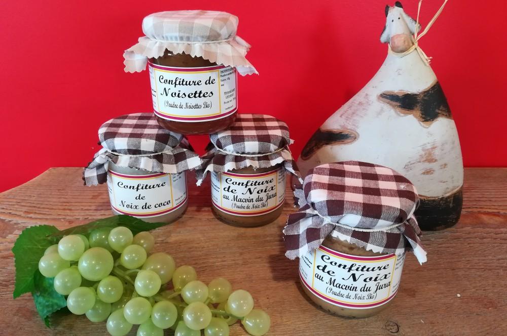 Grand choix de goûts : confiture artisanale du Jura